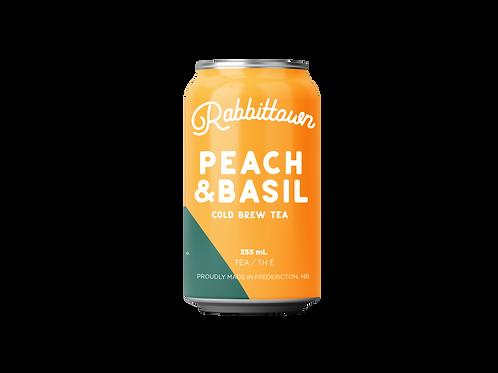 Peach & Basil Cold Brew Tea