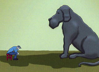 Don't forget to look after your black dog