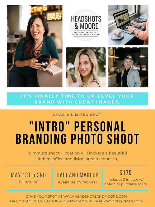 """""""Intro""""Personal Branding Special"""