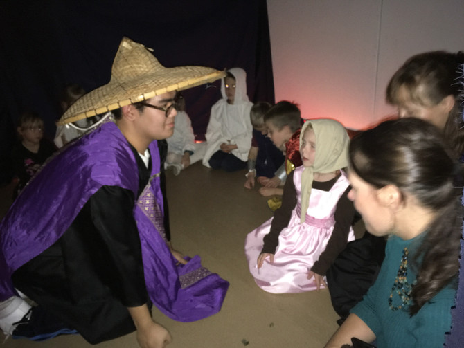 Students Celebrate the Saints