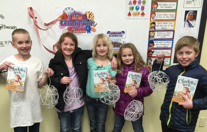 "Mr. Rehder's ""Some, Terrific, Radiant"" Class Finishes Charlotte's Web"
