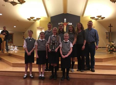 Summit earns SportsmanshipTrophy at Hallissey Tournament