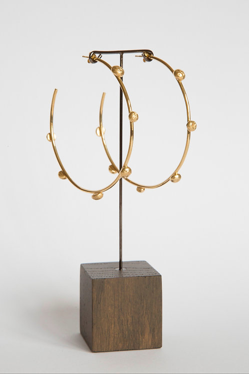 THE HELIOS HOOPS / GOLD