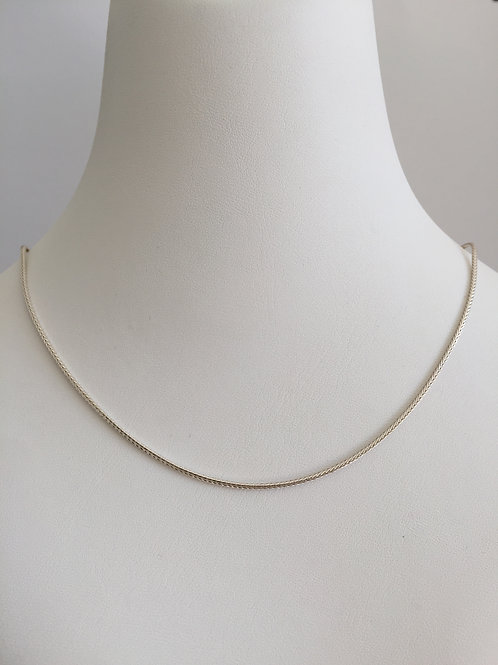 THIN SILVER CHAIN / MANY SIZES