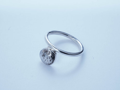 THE MOON RING / OXI SILVER