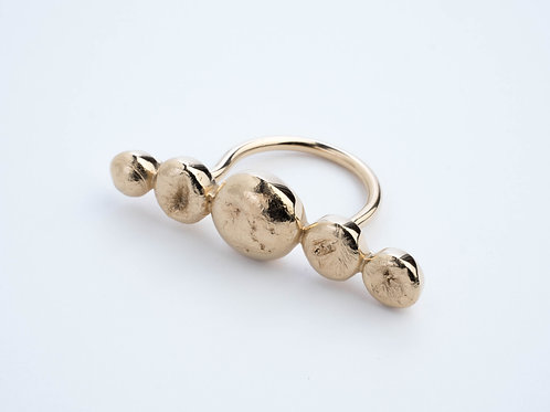 THE LUNA VISTA RING / GOLD