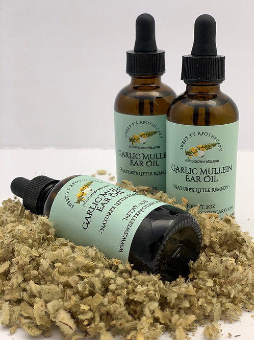 Mullein Garlic Oil - Ear Infections