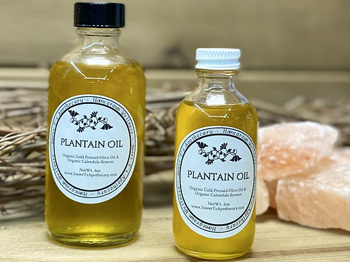 Plantain Infused Oil