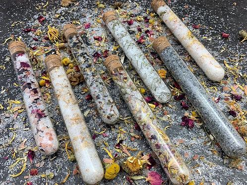 Bath Salt Test Tubes - Mini Detox -