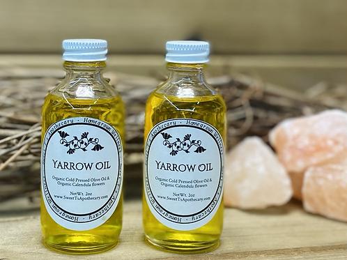 Yarrow Infused Oil