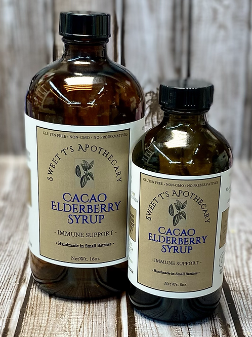 Cacao Elderberry Syrup