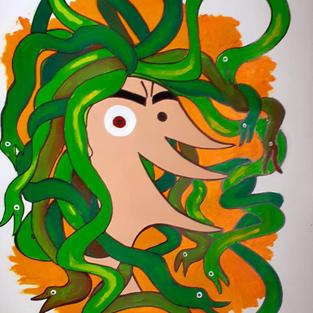 Medusa a la mañana