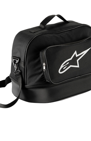 FLOW HELMET BAG / NEGRO BLANCO