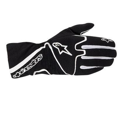 TECH 1-K RACE S GLOVE / NEGRO BLANCO