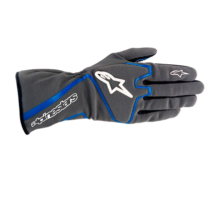 TECH 1-K RACE GLOVE /ANTRACITA AZUL