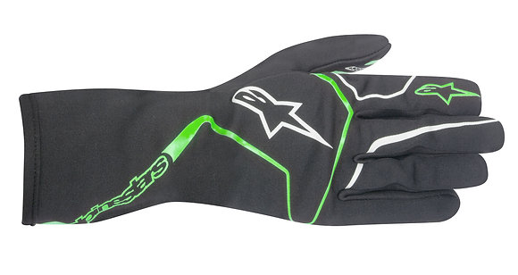 TECH 1-K RACE GLOVE / ANTRACITA VERDE