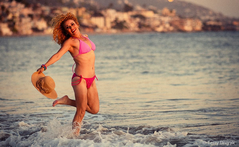Berenice on the beach