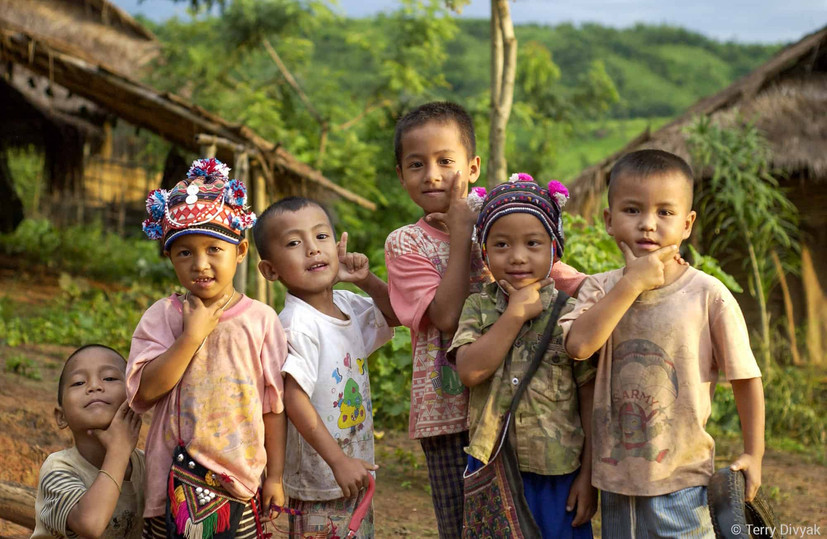 Boys in Thailand.