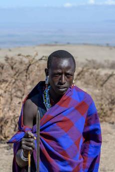 Maasai father