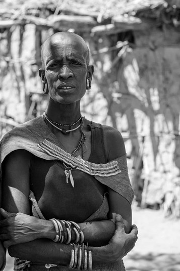 Datoga wife in Tanzania