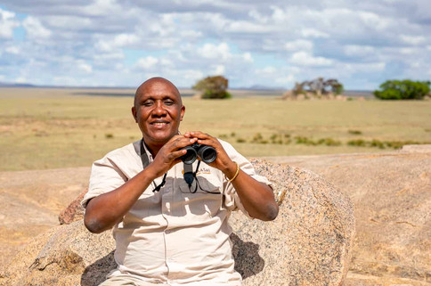The best guide in Tanzania, Gabriel Kavishe