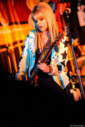 Orianthi at the NAMM Show in LA
