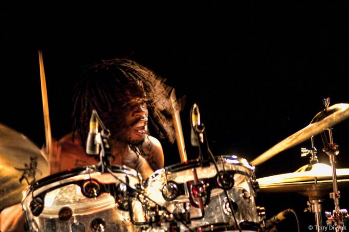 Drummer Thomas Pridgen