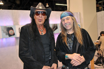 Randy Piper of WASP and Uli Jon Roth of the Scorpions