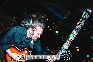 Guitarist at El Corazon in Seattle