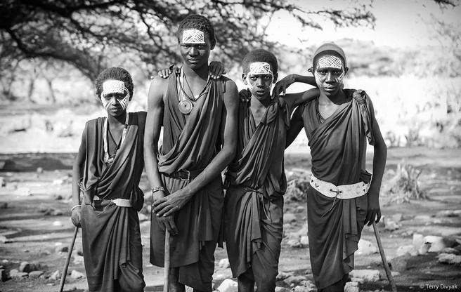 Maasai Boys in Tanzania