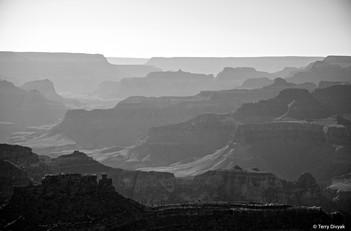Grand Canyon in B&W