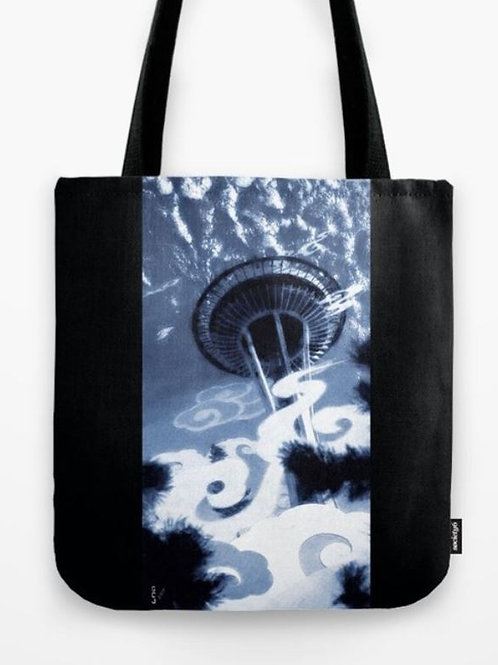 Morning Fog Tote (Size 13x13)