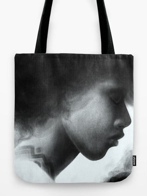 Rose Tote Bag (Size 13x13)