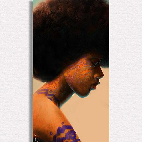 Afrose Signed Print