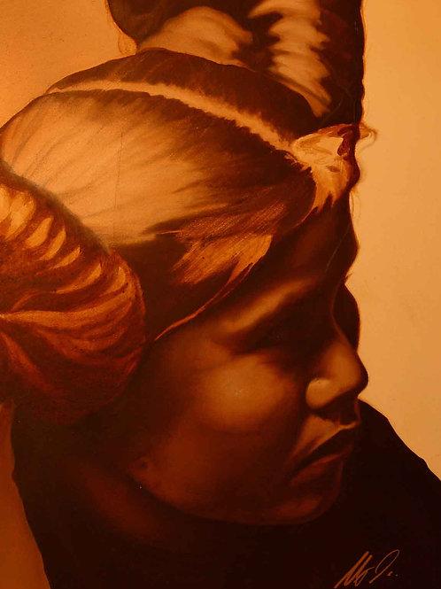 Hopi Girl Signed Print