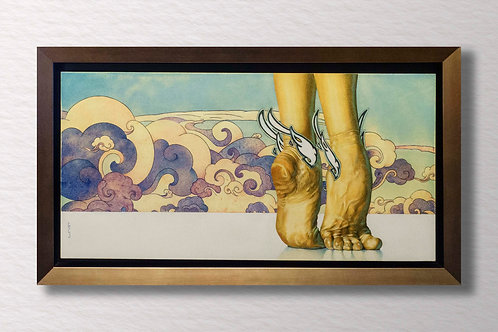 A Dancer's Feet Original Painting - NOT FOR SALE