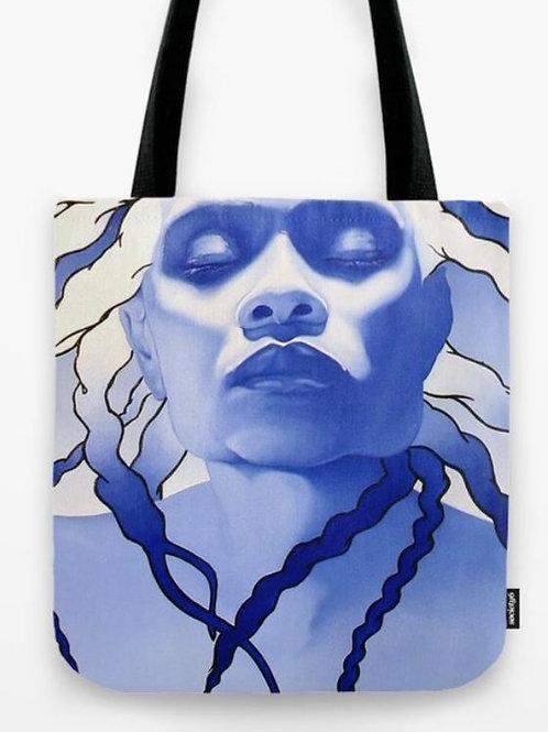 Blue Key Tote Bag