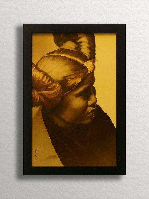 Hopi Girl Original Painting