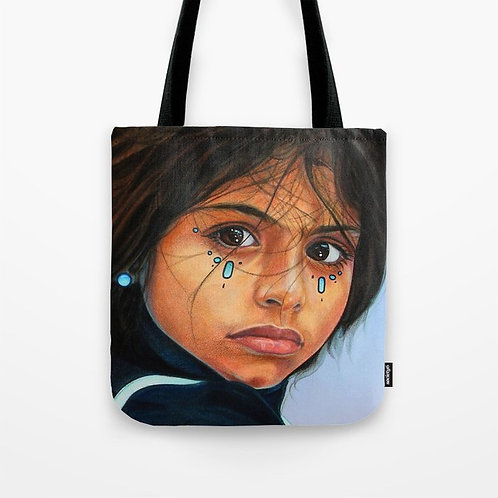 The Departure Tote Bag (Size 16x16)