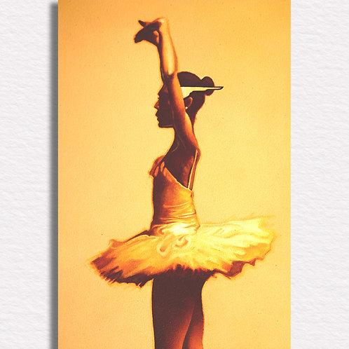 Ballerina Signed Print