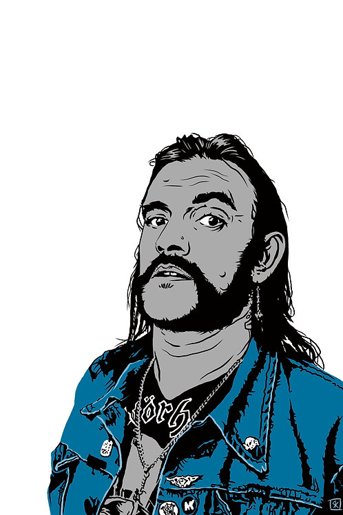 Lemmy Fine art print 13x19 inches