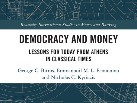 Democracy and Money-Lessons for Today from Athens in Classical Times