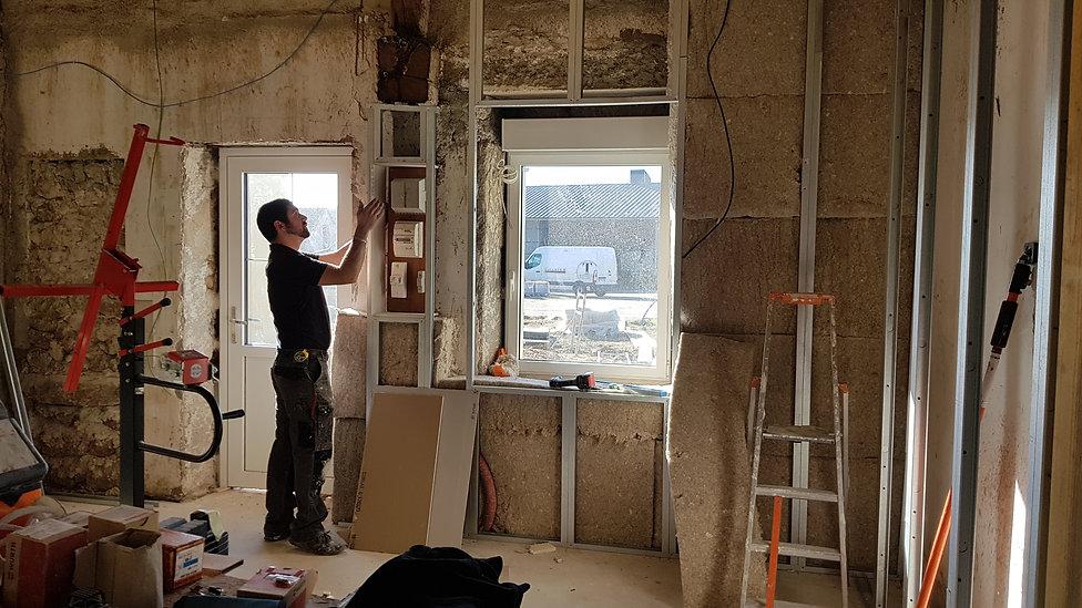 Photo en chantier