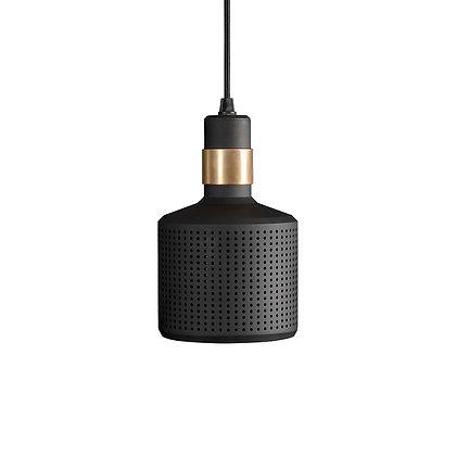 Bert Frank - Riddle Pendant - Brass and Black