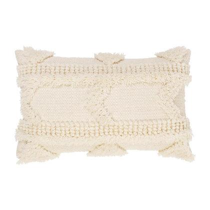 NORIS, Coussin folk en coton et laine