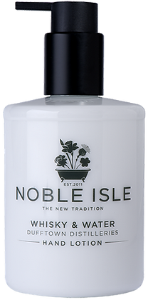 Noble Isle - Hand Lotion - Whisky & Water