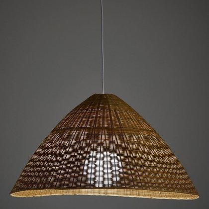 NICINA, Suspension artisanale en bambou tressé