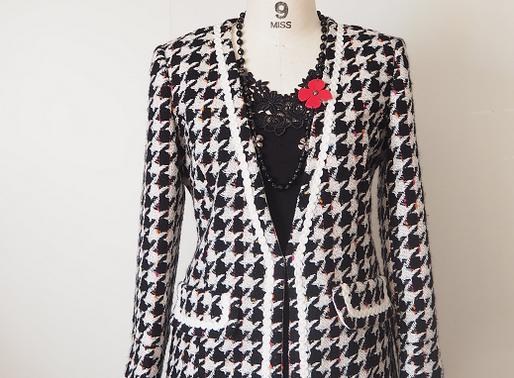 LINTONツイードジャケットで個性あふれるカッコ良さを身に纏う