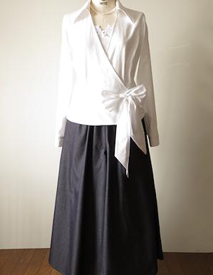 オーダー*娘さんの結婚式、ドレスコードはデニムと白シャツ
