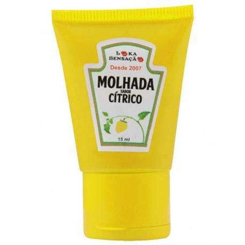 MOLHADA GEL COMESTÍVEL HOT 15ML LOKA SENSAÇÃO